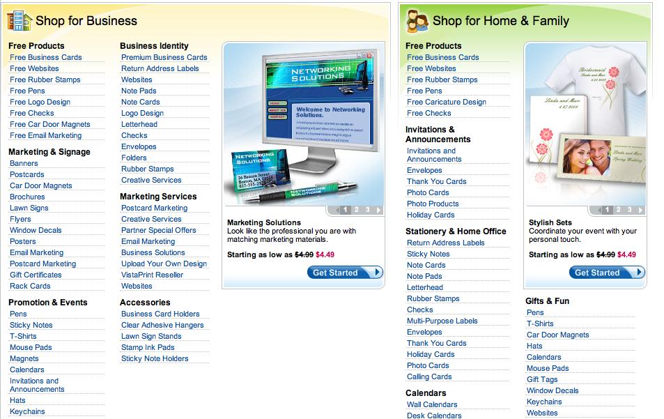 VistaPrint vs. 123Print: Online Printing Review (Print Quality ...